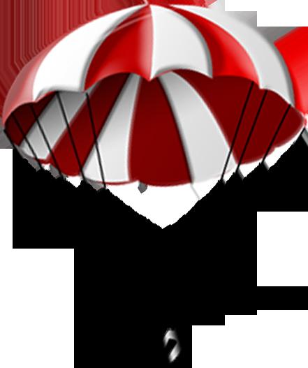 cartoon clipart parachute - photo #49